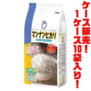 【送料無料!】大塚食品 マンナンヒカリ 75g7本パック ×10入りカロリー調整、たっぷり食物繊維のお手伝い