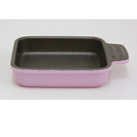 【送料無料!】ウルシヤマ金属 UMIC assiette(アシット)toaster & oven cookwareスクエアS ローズピンク