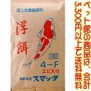 【ペット館】(株)スマック 錦鯉のえさ 浮餌 4F 10kg錦鯉をより華やかに、王者の風格に育て上げる浮...