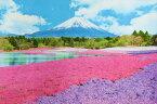 300ピースジグソーパズル 芝桜咲く富士-山梨