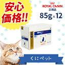 【ロイヤルカナン】 猫用 腎臓サポートフィッシュテイスト(パウチ)85g【12個パック】 【療法食】