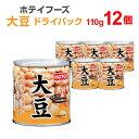 ホテイフーズ 大豆 ドライパック(110g) 12個入り まとめ買い 【キャッシュレス5%還元】
