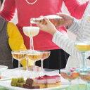 【ポイント5倍】【送料無料】 55個セット(5段用)割れない樹脂素材 トライタン シャンパンタワー用グラス