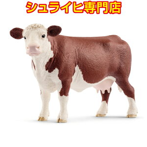 [Schleich Specialty Store] Schleich Hereford Beef Mess 13867 Animal Figure Farm World FARM WORLD Farm Farm Animals schleich