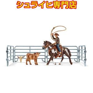 [Schleich专卖店] Schleich团队绳牛仔41418动物图马俱乐部HORSE CLUB schleich