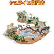 シュライヒ動物フィギュア42321水飲み場での大冒険!サバンナ・ビッグセット