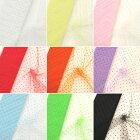 【全10色】フロッキードット15D 15デニールナイロンソフトチュール生地(50cm単位)