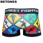 BETONESビトーンズ/StreetFighterストリートファイターWhite/ボクサーパンツ【あす楽対応】【楽ギフ_包装】【テイストクール】