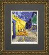 【送料無料】「夜のカフェテラス」ゴッホ(世界の名画・ゴッホ・ジグレー版画(夜のカフェテラス)[絵画通販])