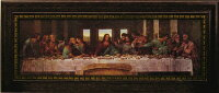 「最後の晩餐」レオナルドダヴィンチ【送料無料/通信販売】(世界の名画・エドガードガ・アートポスター[絵画通販])