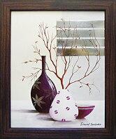 「パープルテンプテンション2」デビッドセダリア和風モダンアートポスター絵画作品[絵画通販]