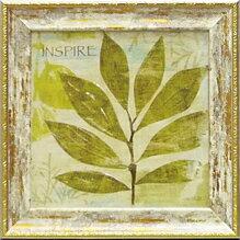 「インスパイア」モ マラン モダンアートポスター[絵画通販]絵 絵画 グリーン 緑 アート【壁掛けフック付き】【絵のある暮らし】
