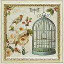 「フリーアズアバード1」リサ オーディット (花・静物)特殊ゲル加工アートポスター[絵画通販]【壁掛けフック付き】【絵のある暮らし】
