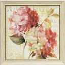 「ハーモニアス5」リサ オーディット (花・静物)特殊ゲル加工アートポスター[絵画通販]【壁掛けフック付き】【絵のある暮らし】