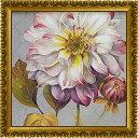 「クラシカリービューティフル1」リサ オーディット (花・静物)特殊ゲル加工アートポスター[絵画通販]【壁掛けフック付き】【絵のある暮らし】