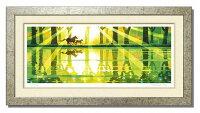 【送料無料】「湖畔を駈ける」楽天ランキング1位獲得作品藤谷壮仁郎(Soujirou)ジークレー版画作品(WAシリーズ・和TASTE)(絵画通販)