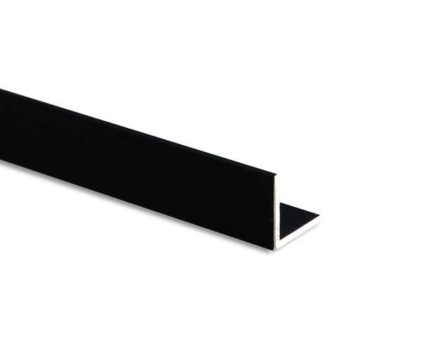 等辺アングル 3.0×30×30×1000ミリ 黒 BA−30304【光】