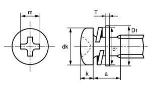 (+)ナベI=4ニッケル黄銅2.3X6(入数4000
