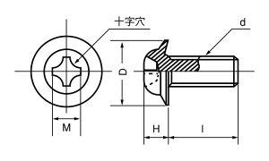 TP小ねじニッケル鉄5X12(入数4000