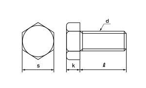 六角ボルト(全(ウィット■材質(ステンレス)■規格(3/8X110)■入数50