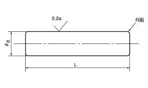 平行ピン(硬質(大陽■表面処理(SUS)■材質(ステンレス)■規格(1.2X8)■入数5000