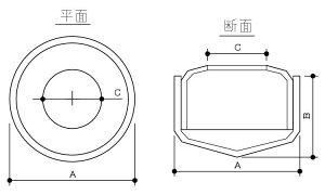 タケネコレガドーム■表面処理(タケネ)■材質(鉄)■規格(KDMM06)■入数100