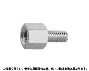 NiBS六角スペーサーBSBE■表面処理(ニッケル)■材質(鉄)■規格(2524E)■入数500