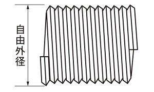スプリュ−■表面処理(ステン)■材質(ステンレス)■規格(M16-2D)■入数10