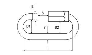 リングキャッチ■表面処理(MMステン)■材質(ステンレス)■規格(SH-10)■入数10