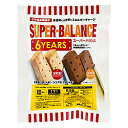 SUPER BALANCE 6YEARS(スーパーバランス 6年保存クッキー) 栄養機能食品/20袋入(1ケース)