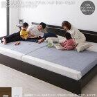 連結可能シンプルなパネル型デザインベッド通気性の良いレッグタイプベッド【セミシングル】90幅圧縮ロールポケットコイルマットレス