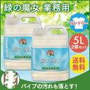 【2本セット】緑の魔女 ランドリー 業務用 5L 送料無料 あす楽対応...