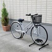 自転車スタンド 1台用 BYS-1送料無料 ブラック 自転車スタンド 1台用 1台 アイリスオーヤマ 自転車 置き場 家庭用 サイクルガレージ 駐輪 駐輪場 屋外収納 サイクルポート