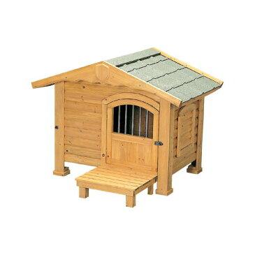 【犬小屋・大型犬】ロッジ犬舎 RK-950 ブラウン【アイリスオーヤマ】【送料無料】
