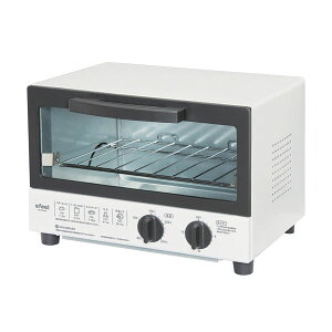 【レビューを書いて送料無料】温度調整機能付オーブントースター EOT-100K ホワイト [トース...