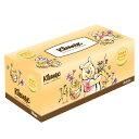《C》クリネックスはちみつローションティシュークマのプーさん300枚入り(150組)【D】(クレシアCreciaScottieKleenexティッシュティシューちり紙塵紙鼻紙ティッシュペーパーティッシュケースボックス)[HTNT]