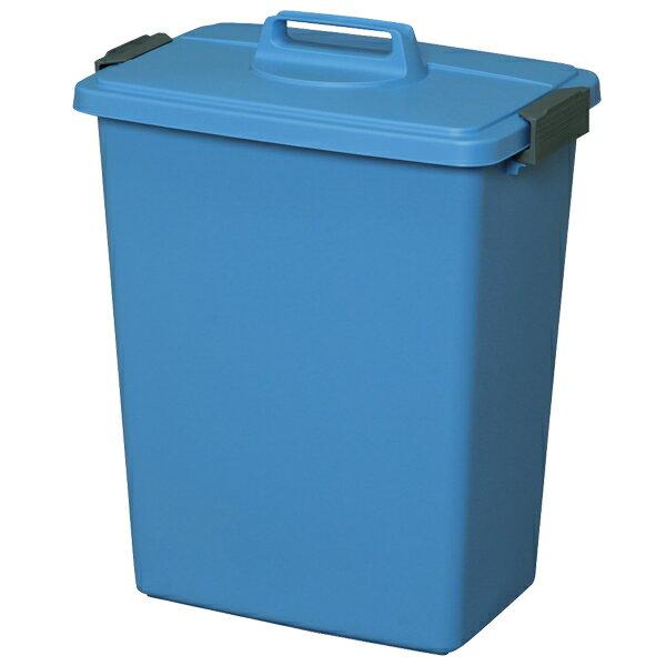 【ゴミ箱】角型ペール MK-45 ブルー【アイリスオーヤマ】(ひとり暮らし ワンルーム・インテリア・雑貨・分別ごみ箱 ダストbox くずかご・収納家具収納用品・キッチン 収納・リビング ) 一人暮らし 収納 新生活