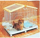 ハウスケージHCA-900イエロー/オレンジ【アイリスオーヤマ】(ご家庭、ご家族のハムスター・リスに・ペット用品・小さいサイズ・小屋・小型・給餌器・給水器・キャスター付ケージ)【送料無料】