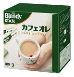 インスタントコーヒー AGF ブレンディ スティック カフェオレ10g×100本 スティックコーヒー カフェオレ コーヒー コーヒースティック インスタント blendy スティックミルク ギフト 大容量
