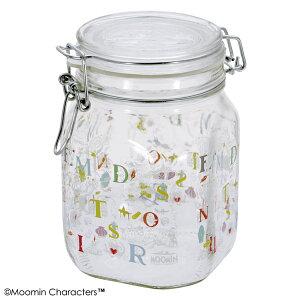 【エントリーでポイント2倍】MOOMIN 密閉瓶 1.0L K749MM ムーミンパパ・メモワール【食器 キャニスター プレゼント ギフト ガラス】【D】