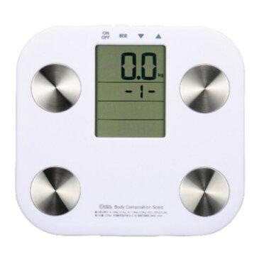 体重計 体組織計 HB-K90-W 送料無料 ホワイト白 体組成 計測器 デジタル 薄型 コンパクト 体重 体脂肪 BMI指数 BMI 基礎代謝 ダイエット 健康 ダイエット器具 ボディスケール ヘルスメーター ガラストップ 生活家電 健康管理 測り 計測 計量 かわいい 【TC】