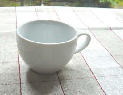 白デミタスカップ