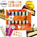【★100円OFFクーポン配布中】【あす楽&送料無料】Galler ガレー チョコレート 12本入り