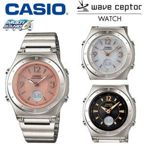 カシオ ソーラー電波時計 レディース [送料無料&ポイント5倍] CASIO 腕時計 電波ソー…