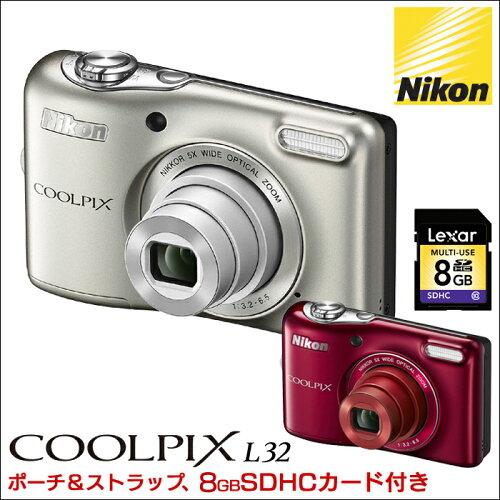 ニコン クールピクス L32 お買得セットニコン クールピクスL32 特別セット C...