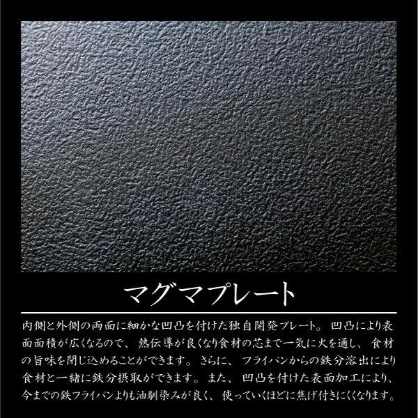 鉄 フライパン 26cm 日本製 IH対応匠 TAKUMIJAPAN MGFR26(P15)