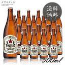 サッポロ ラガービール 中瓶 P箱入り 500ml 20本