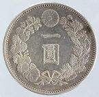新1円銀貨 明治17年(1884)美品