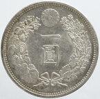 新1円銀貨 明治15年(1882)未使用【未洗い】