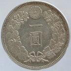 新1円銀貨(大型)明治17年(1884)極美品+